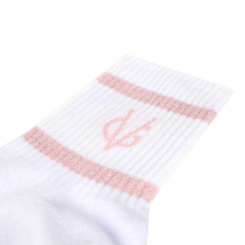 VG light pink short socks