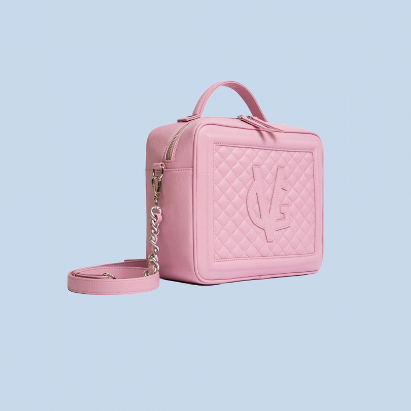 VG Medium quilted candy pink cubotto