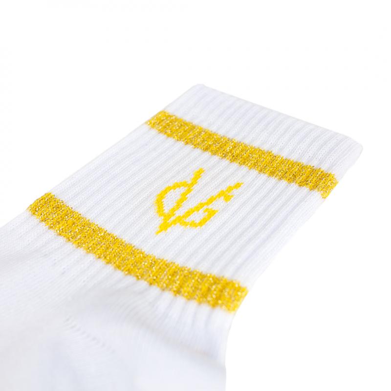 VG yellow short socks