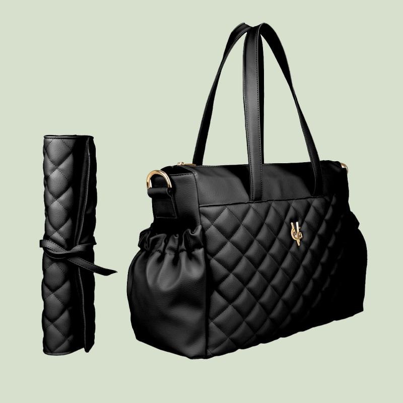 VG black stroller bag & mattress