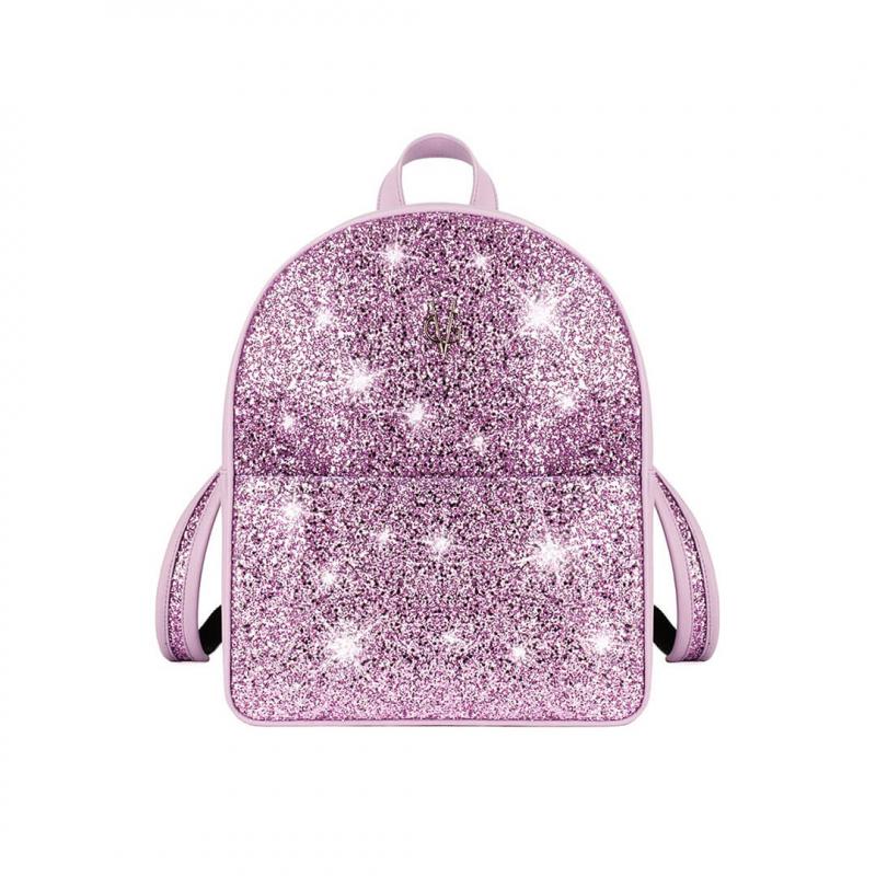 VG zaino basic glitter lilla