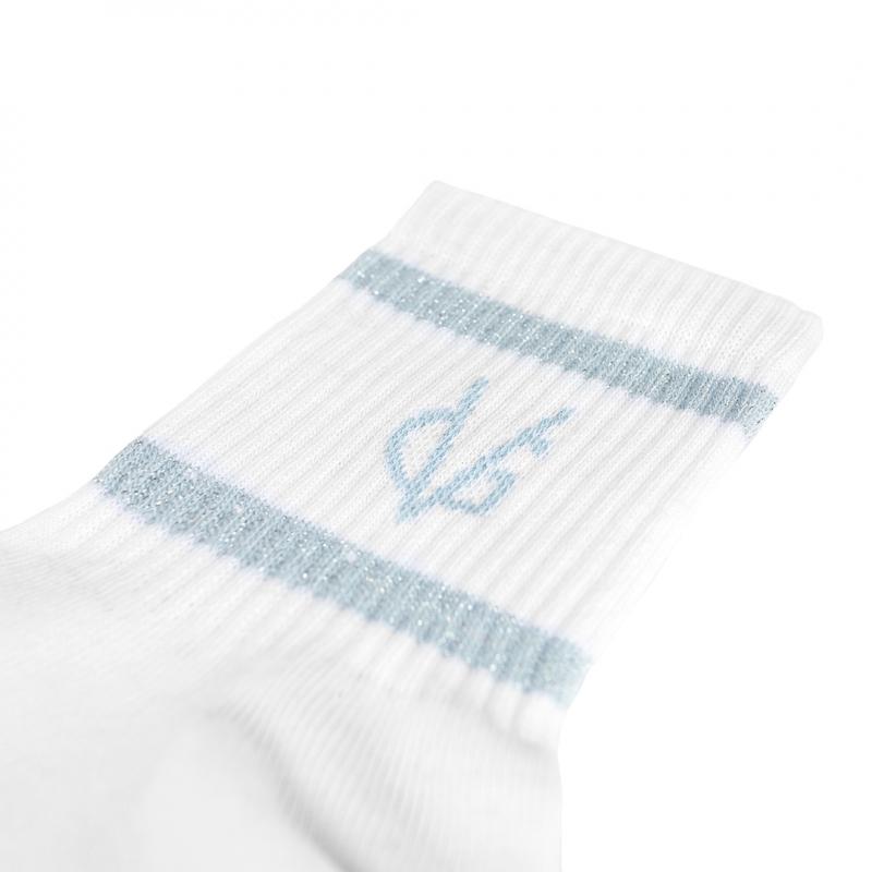 VG light blue short socks