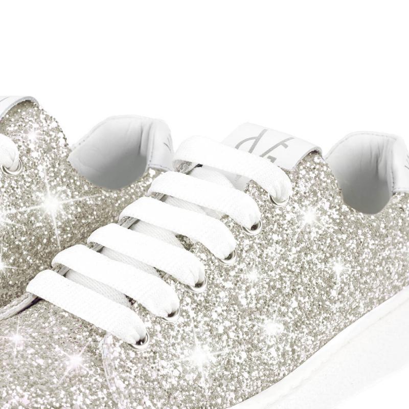 VG Sneakers glitter ghiaccio