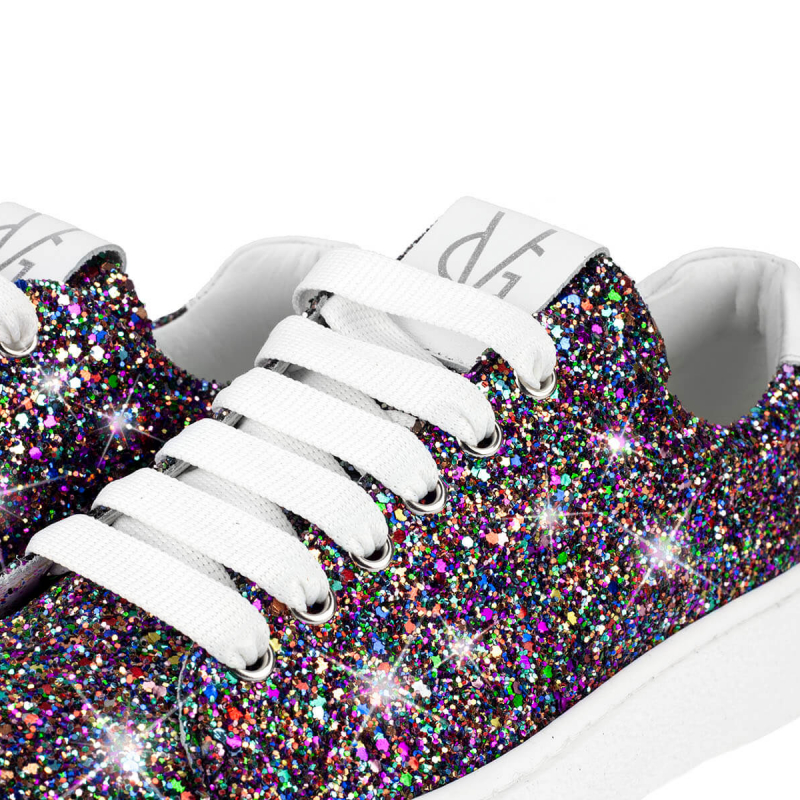 VG Sneakers glitter multicolor