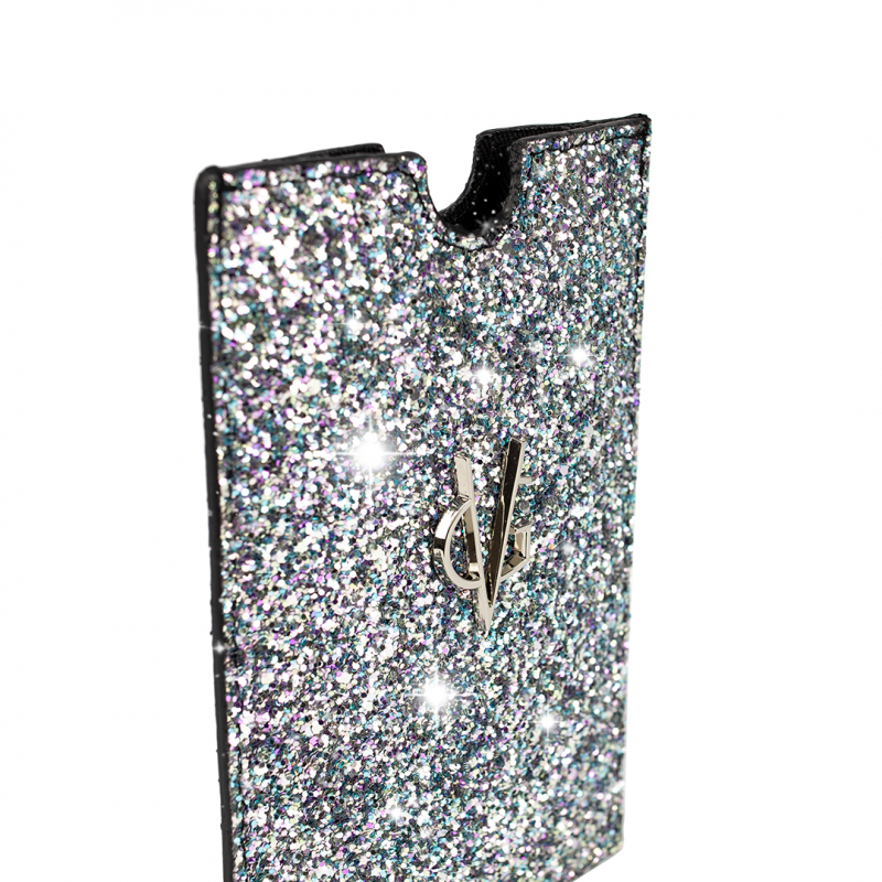 VG pink glitter unicorn cellphone holder