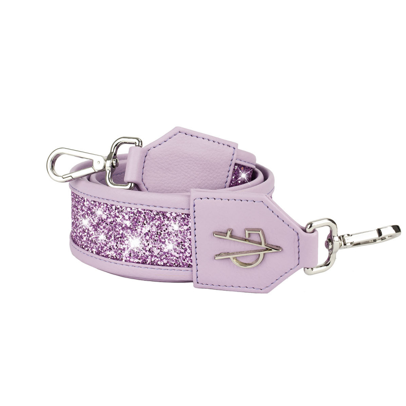 VG basic lilac glitter shoulder strap