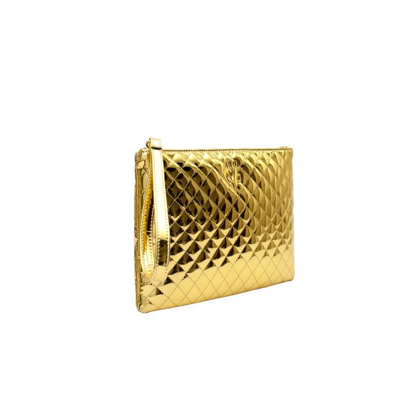 VG Clutch piccola trapuntata oro