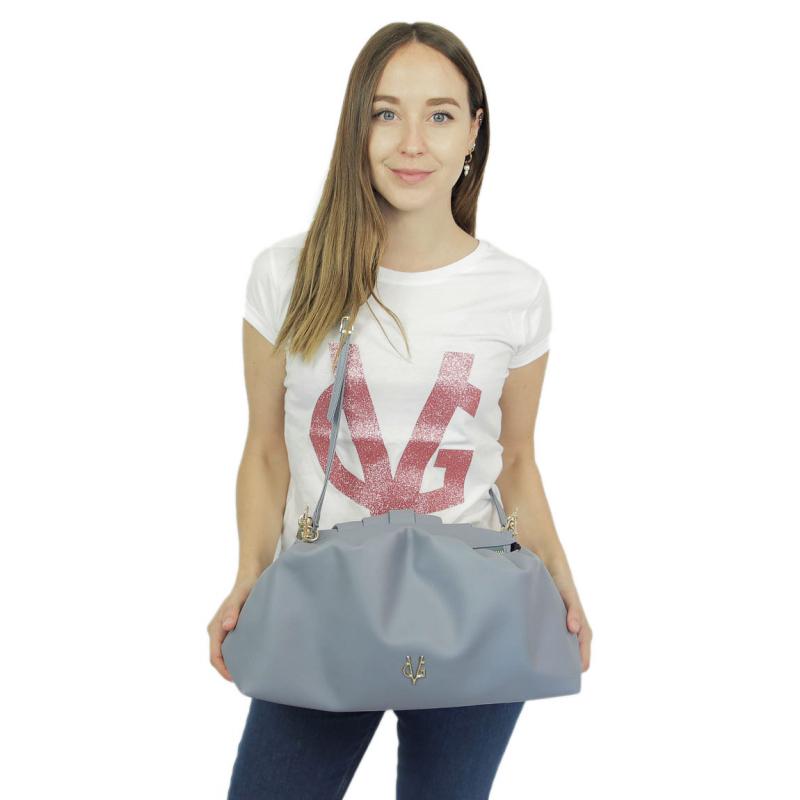 VG violet big pouch bag
