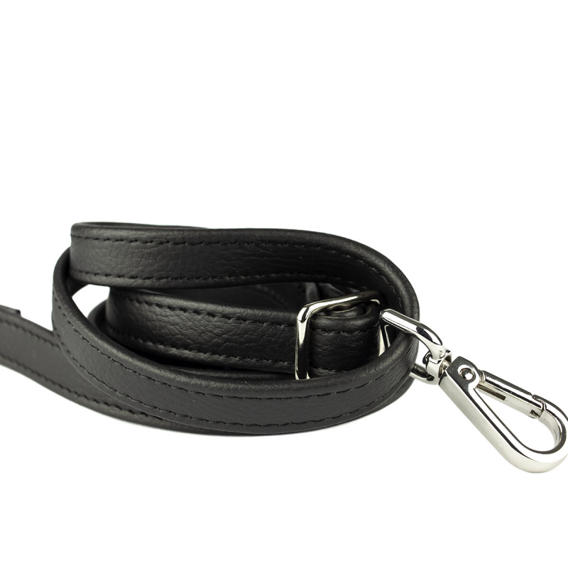 VG black shoulder strap silver