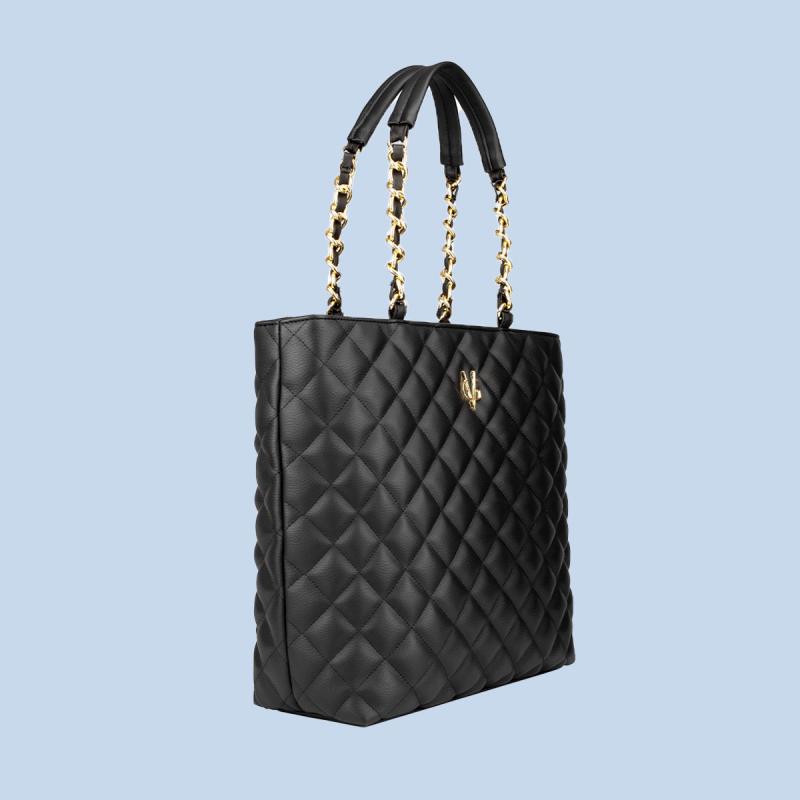 VG shopping matelassé noir
