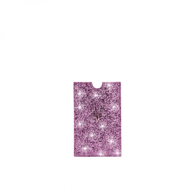 VG lilac glitter holder