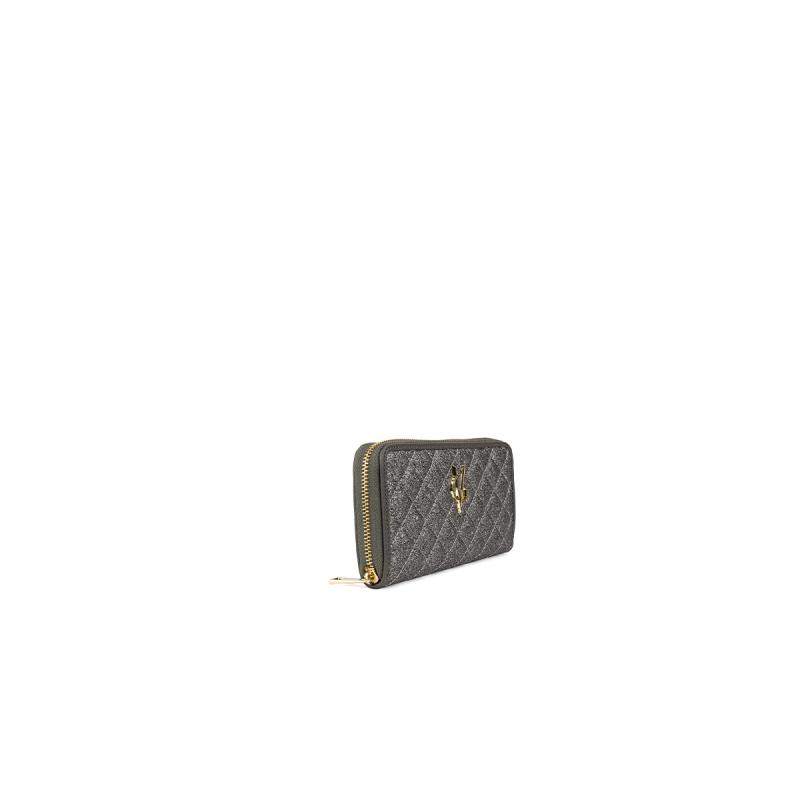 VG portafoglio trapuntato glitter sale e pepe