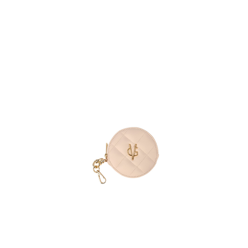 VG light pink round purse