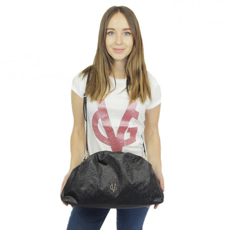 VG grand pouch bag glitter noir