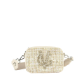 VG shoulder small soap bag light bouclé