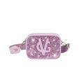 VG basic  lilac glitter shoulder small soap bag