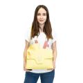 VG Vanilla yellow rouches shoulder bag