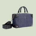 VG Medium trunk with quilted jeans bowler