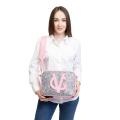 VG saponetta grande rosa  & glitter rosa unicorn