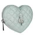 VG sac à main coeur glitter fin bleu clair
