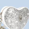 VG cuore baby glitter argento