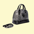VG Bugatti bag large glitter grey