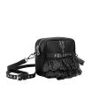 VG x FELEPPA - Mini saponetta rouches tulle lurex noir