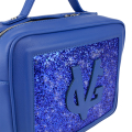 VG Medium cubotto electric blue & blue glitter
