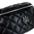 VG black quilted pouch
