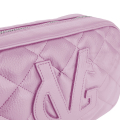 VG shoulder small soap bag quilted lilac