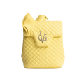 VG sac à dos rouches jaune vanille