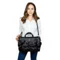 VG black camelia bag