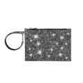 VG Glitter grey small pochette for customized bag