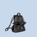 VG baby sac à dos rouches glitter noir