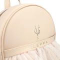 VG x FELEPPA - Light rose rouches tulle lurex backpack