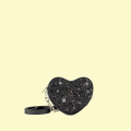 VG black glitter baby heart