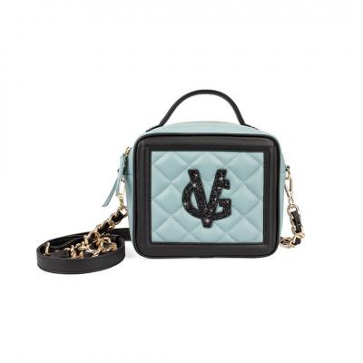 VG petit sac à main box vert sage