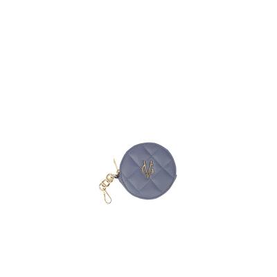 VG violet round purse