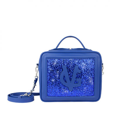 PREORDER - VG Medium cubotto electric blue & blue glitter