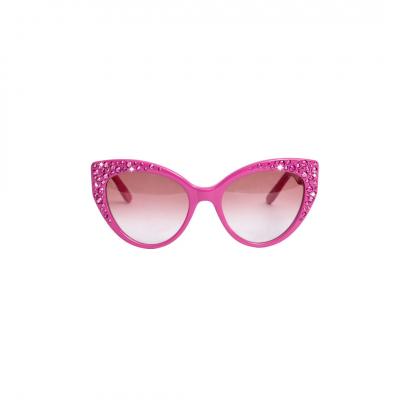 ❤️ VG lunettes de soleil avec swarovski fuchsia