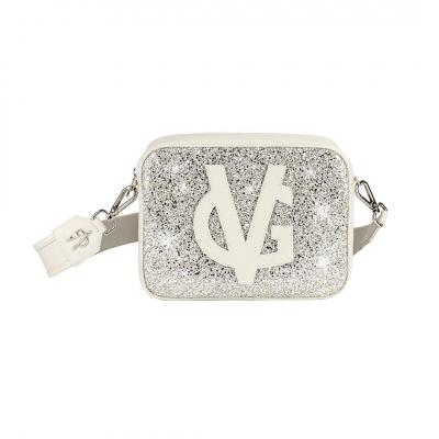 VG basic grand sac à bandoulière savon glitter glace
