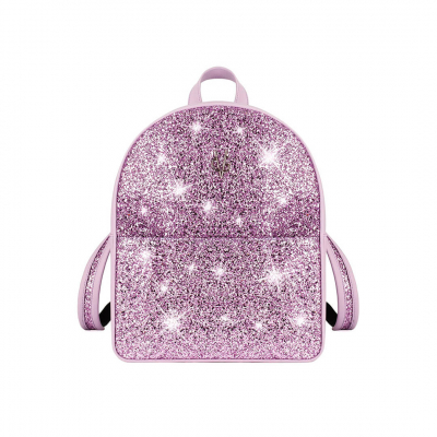 VG basic ililac glitter backpack