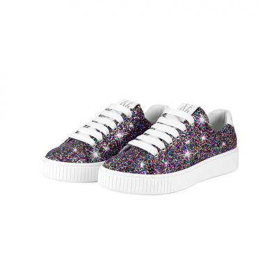 VG Sneakers glitter multicolor