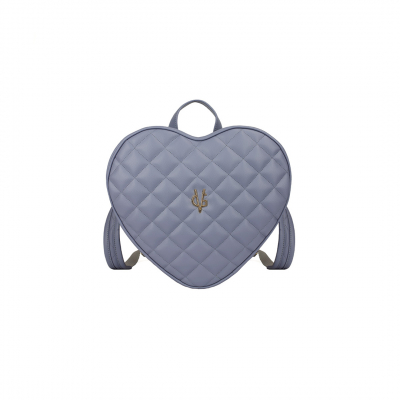 Vg violet heart quilted backpack