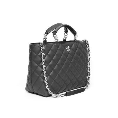 VG10 sac à main matelassé noir
