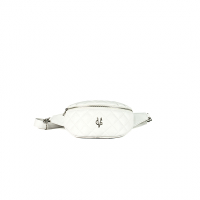 VG White quilted pouch