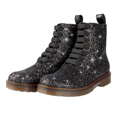 VG Boots glitter noir