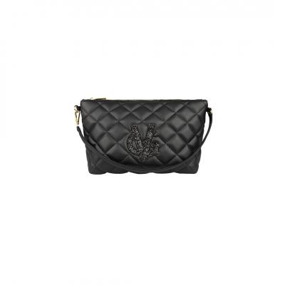 VG beauty case - pochette nero & glitter nero