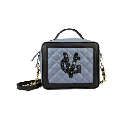 VG moyenne sac à main box violet