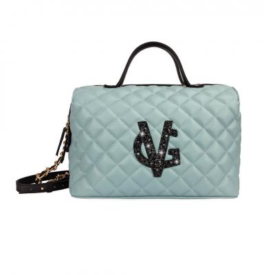 VG green sage duffle bag